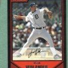 2007 Bowman Justin Verlander Detroit Tigers # 2