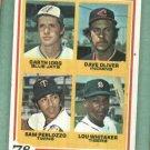 1978 Topps Lou Whitaker Detroit Tigers Rookie
