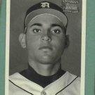 2001 Bowman Heritage Exclusive Omar Infante Detroit Tigers Rookie