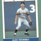 1987 Fleer Record Setters Alan Trammell Detroit Tigers Oddball