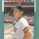 1988 Fleer Baseballs League Leaders Alan Trammell Detroit Tigers Oddball