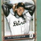 2005 Upper Deck Classics Hal Newhouser Detroit Tigers