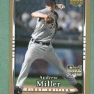 2007 Upper Deck First Edition Andrew Miller Detroit Tigers Rookie