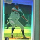 2010 Bowman Chrome Refractor Brayan Villarreal Detroit Tigers Rookie #D / 500