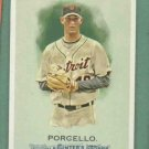 2010 Topps Allen & Ginters Rick Porcello Detroit Tigers # 256