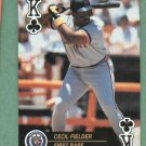 1992 US Playing Card Cecil Fielder Detroit Tigers Oddball