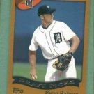 2002 Topps Ryan Raburn Detroit Tigers Rookie # 692