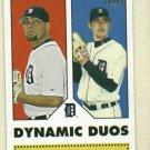2006 Topps 52 Dynamic Duos Joel Zumaya Justin Verlander Detroit Tigers # DD3