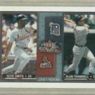 2002 Fleer Rival Factions Ozzie Smith Alan Trammell / 1000 Detroit Tigers