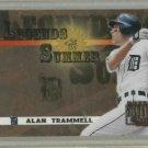 2003 Donruss Signature Series Legends Of Summer Alan Trammell / 250 Detroit Tigers