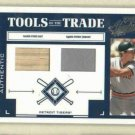 2004 Playoff Tools Of The Trade Alan Trammell Bat / Jersey Dual / 250 Detroit Tigers