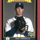 2009 O Pee Chee Rick Porcello ROOKIE Detroit Tigers # 594