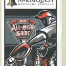 2005 MLB All Star Game Ballot Unpunched Ameriquest Detroit Tigers Comerica Park
