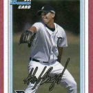 2010 Bowman Alex Burgos Detroit Tigers Rookie # BDPP2
