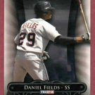2010 Tri Star Daniel Fields Detroit Tigers Rookie # 119