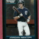 2006 Bowman Chrome Draft Picks Jordan Newton Detroit Tigers Rookie # DP61