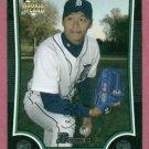 2009 Bowman Chrome Fu Te Ni Detroit Tigers Rookie # BDP40
