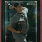 2010 Bowman Chrome Andy Oliver Detroit Tigers Rookie # 217