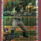 2010 Topps Chrome X Refractor Andy Oliver Detroit Tigers Rookie # 218
