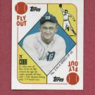 2010 Topps Red Back Ty Cobb SP Detroit Tigers # 5
