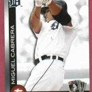 2010 Topps Town Miguel Cabrera Detroit Tigers # TT15