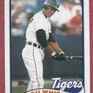 1989 Topps Lou Whitaker Detroit Tigers # 320