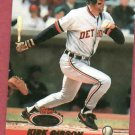 1993 Topps Stadium Club Kirk Gibson Detroit Tigers # 673