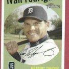 2008 Topps Heritage Ivan Rodriguez Detroit Tigers # 28