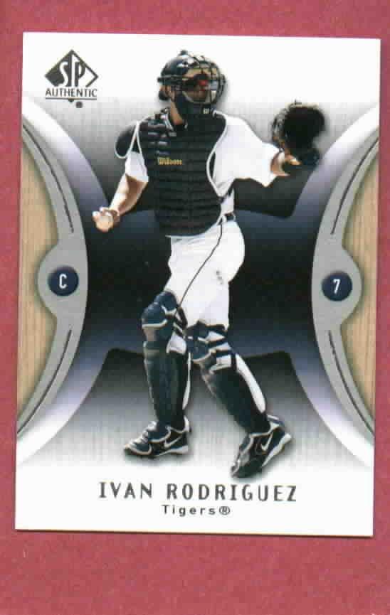 2007 Upper Deck SP Ivan Rodriguez Detroit Tigers # 66