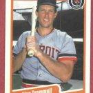 1990 Fleer Alan Trammell Detroit Tigers # 617