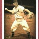 2002 Upper Deck SP Legendary Cuts George Kell Detroit Tigers # 30