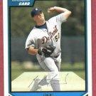 2007 Bowman Draft Picks Luke French Detroit Tigers Rookie # BP20