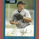 2006 Bowman Gold Collin Mahoney Detroit Tigers # B49