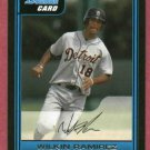 2006 Bowman Wilkin Ramirez Detroit Tigers Rookie # B79
