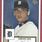 2006 Topps 52 Jordan Tata Detroit Tigers Rookie # 13