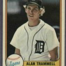 1981 Fleer Alan Trammell Detroit Tigers # 461