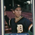1982 Fleer Alan Trammell Detroit Tigers # 283