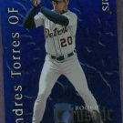 2002 Donruss Rookie Crusade Andres Torres Detroit Tigers # RC-4 #D/ 1500
