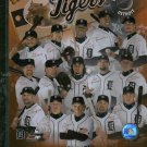 2007 Detroit Tigers Season Ticket Holders Plaque Verlander Rodriguez Granderson Sheffield