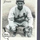 2002 Fleer Greats Of The Game Mickey Cochrane Detroit Tigers # 47