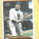 2011 Topps Lineage Ty Cobb Cloth Sticker #TCS32