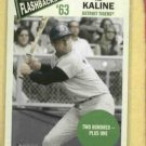 2012 Topps Heritage Flashbacks Al Kaline Detroit Tigers # BF-AK