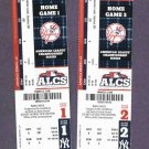 2012 ALCS Tickets Games 1 & 2 Detroit Tigers New York Yankees Yankee Stadium