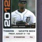 2012 Detroit Tigers Ticket Avisail Garcia First Game Miguel Cabrera HR # 33  8-31-12 Triple Crown
