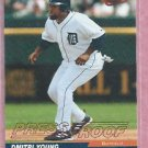 2005 Leaf Red Press Proof Dimitri Young Detroit Tigers # 71