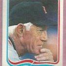 1985 Fleer Star Sticker Sparky Anderson Detroit Tigers # 125