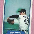 1982 Fleer Jack Morris Detroit Tigers # 274