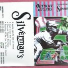 1991 Silvermans Restaurant Detroit Tigers Schedule
