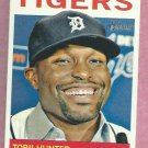 2013 Topps Heritage Torii Hunter Detroit Tigers # 256