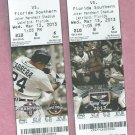March  13 2013 Detroit Tigers V Florida Southern Spring Training Ticket Miguel Cabrera Lakeland